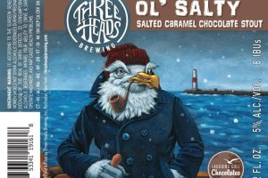 Three Heads Ol' Salty Salted Caramel Chocolate Stout