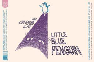 Twelve Percent Fat Orange Cat Little Blue Penguin New England IPA