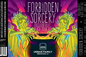 Urban Family Forbidden Sorcery Passionfruit Black Sour Ale