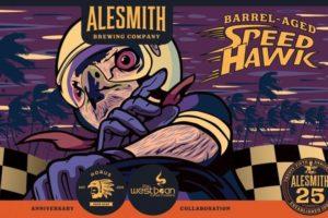 Alesmith Barrel-Aged Speed Hawk Stout