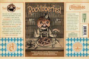 Almanac Beer Co Rocktoberfest Lager