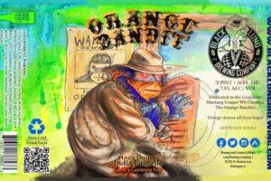 Black Lung Brewing Company Orange Bandit DIPA