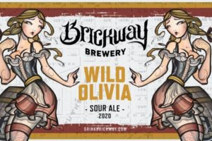 Brickway Brewery Wild Olivia Sour Ale