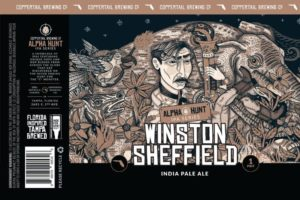 Coppertail Brewing Winston Sheffield IPA