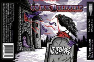 Core 3 Brewery Nevermore Black Saison Ale