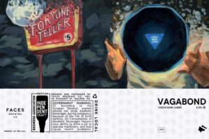 Faces Brewing Co. Vagabond Lager