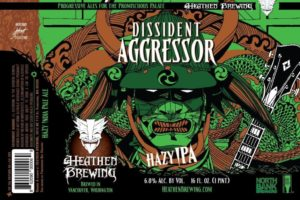 Heathen Brewing Dissident Aggressor IPA