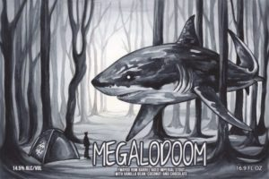 Invasive Species Brewing Megalodoom Imperial Stout