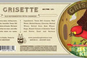 Jester King Grisette Ale