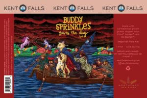 Kent Falls Buddy Sprinkles Saves The Day IPA