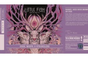 Little Fish Brewing Gods, Wasps, And Stranglers BA Sour Brown Ale