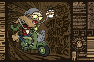 Lupulin Brewing Coffee Shop Assault Vehicle Imperial Stout
