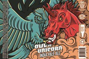 Night Shift Brewing Owl Vs. Unicorn IPA