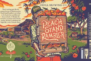 Odell Brewing Co Peach Stand Rambler Blonde Ale