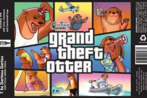 Pontoon Brewing Grand Theft Otter DIPA