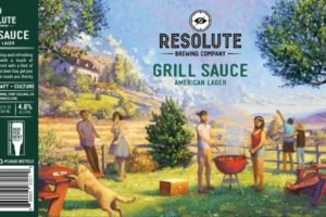 Resolute Brewing Grill Sauce American Lager