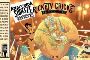 Rickety Cricket Brewing Anaconda Squeeze IPA