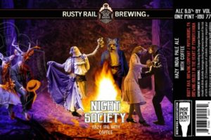 Rusty Rail Brewing Night Society Hazy Coffee IPA