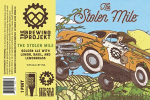 The Brewing Projekt The Stolen Mile Golden Ale