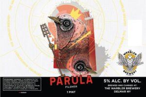 The Warbler Brewery Parula Pilsner