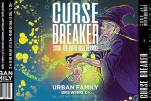 Urban Family Brewing Co Curse Breaker Sour