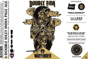 Wayfinder Beer Double Fink Hazy DIPA