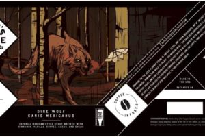 Wolfs Ridge Brewing Dire Wolf Canis Mexicanus Imperial Stout