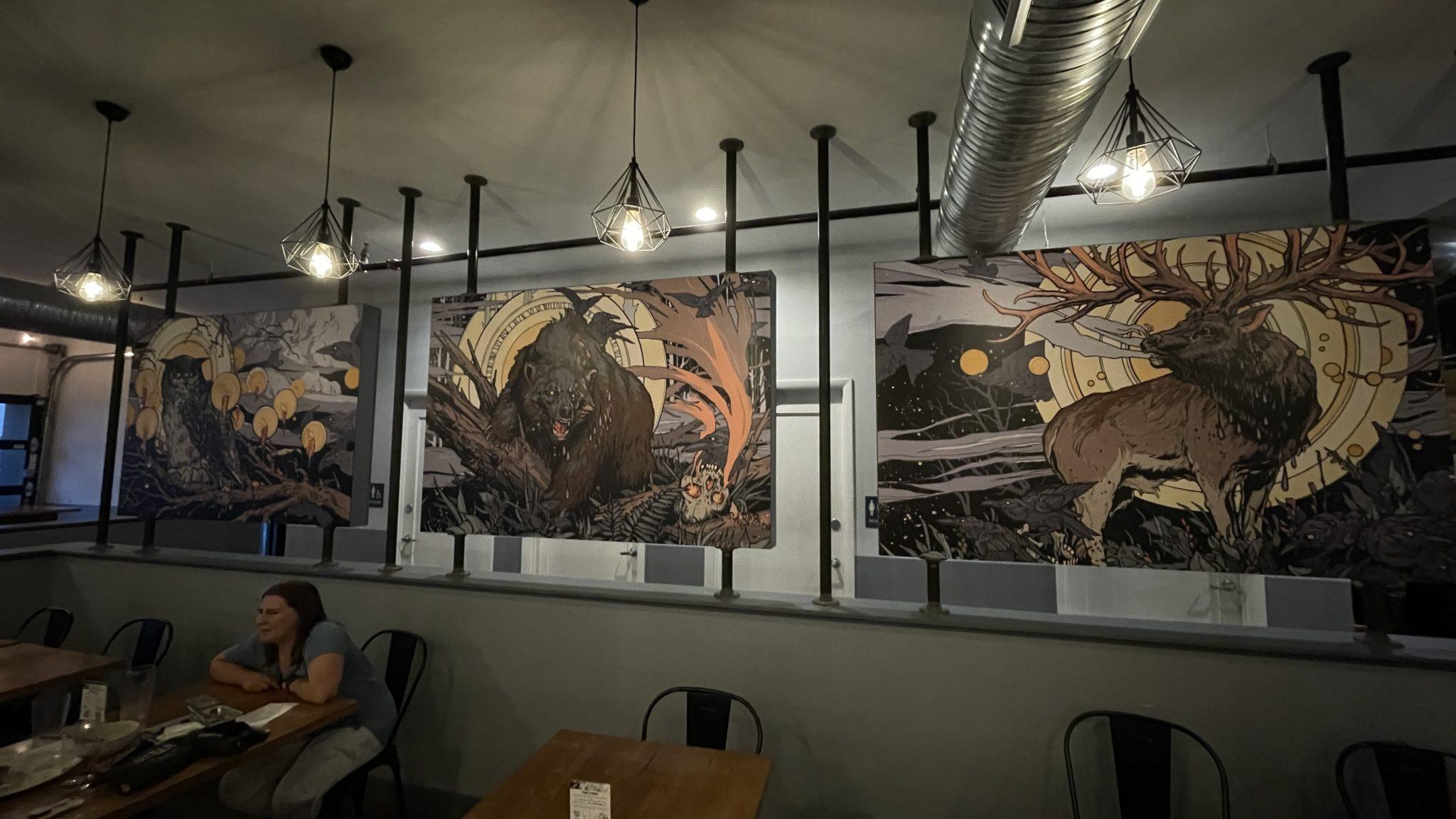 Nepenthe Brewing Murals