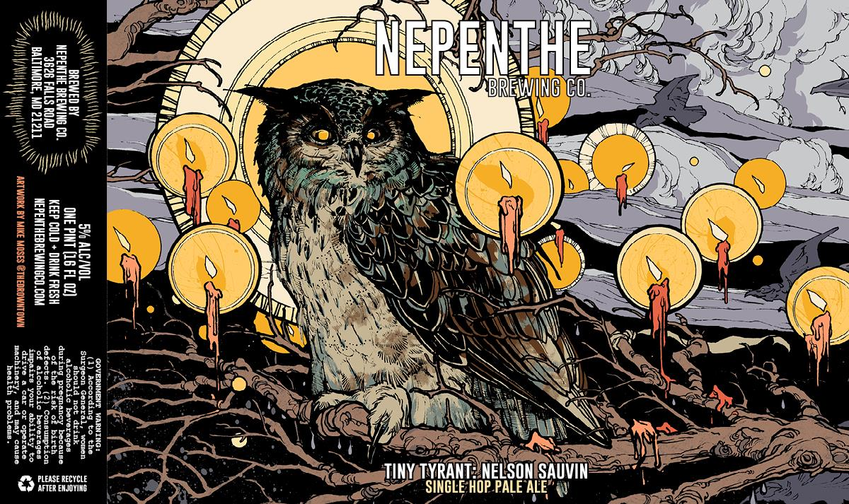 Nepenthe Brewing Tiny Tyrant Pale Ale