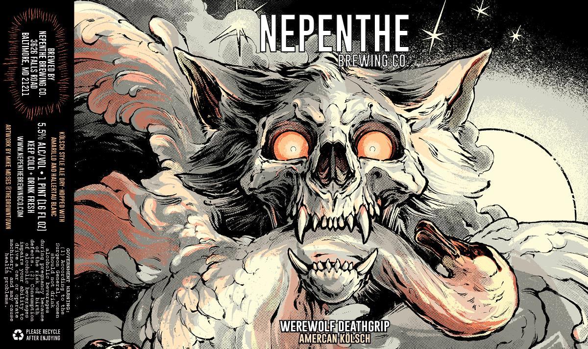 Werewolf Deathgrip American Kolsch